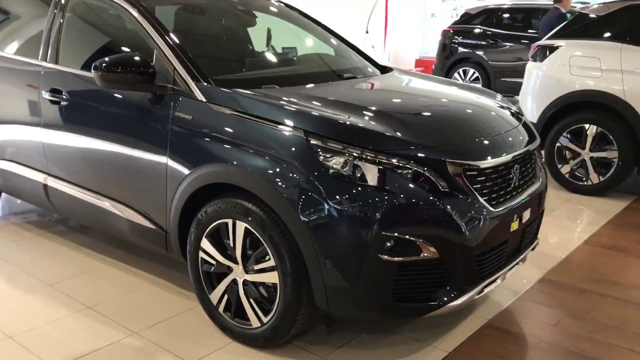 2017 peugeot 5008 gt line youtube for Interior 5008 gt line