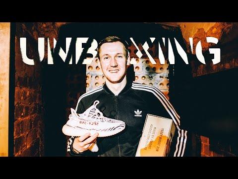 Unboxing ? ????? ????????? adidas Yeezy Boost 350 V2 Zebra