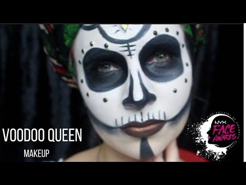 VOODOO QUEEN | NYX FACE AWARDS ITALIA 2017 ! #faceawardsitaly