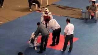 63kg Suleyman Subasi - Berkay Akyol (2012 Turkish Taekwondo Championships Under -21)