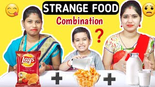 STRANGE FOOD COMBINATION CHALLENGE || Funny Food Challenge