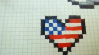 Pixel art drapeau anglais videos pixel art drapeau anglais clips - Dessiner le drapeau anglais ...