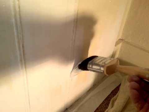 How To Remove Gloss Paint From Wood