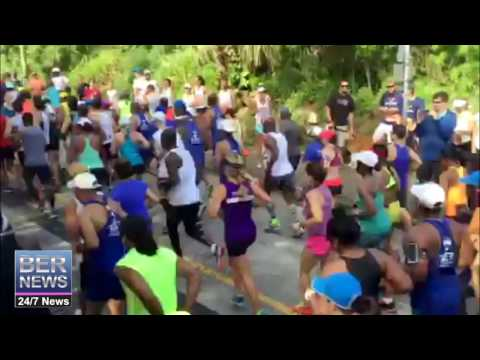 Start Of Bermuda Day Half Marathon, May 24 2016