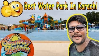 A day with family in Sunway Lagoon water park karachi Pakistan🔥🔥😱 | Vlog#3