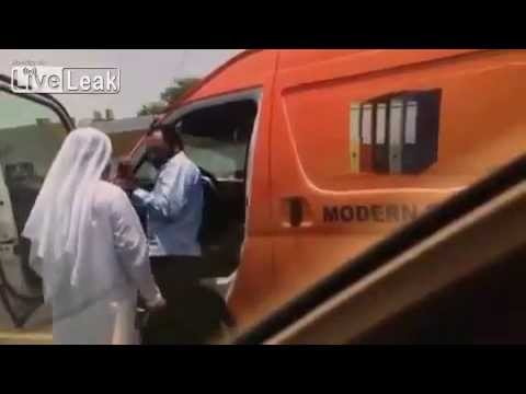 UAE Dubai official beating indian driver