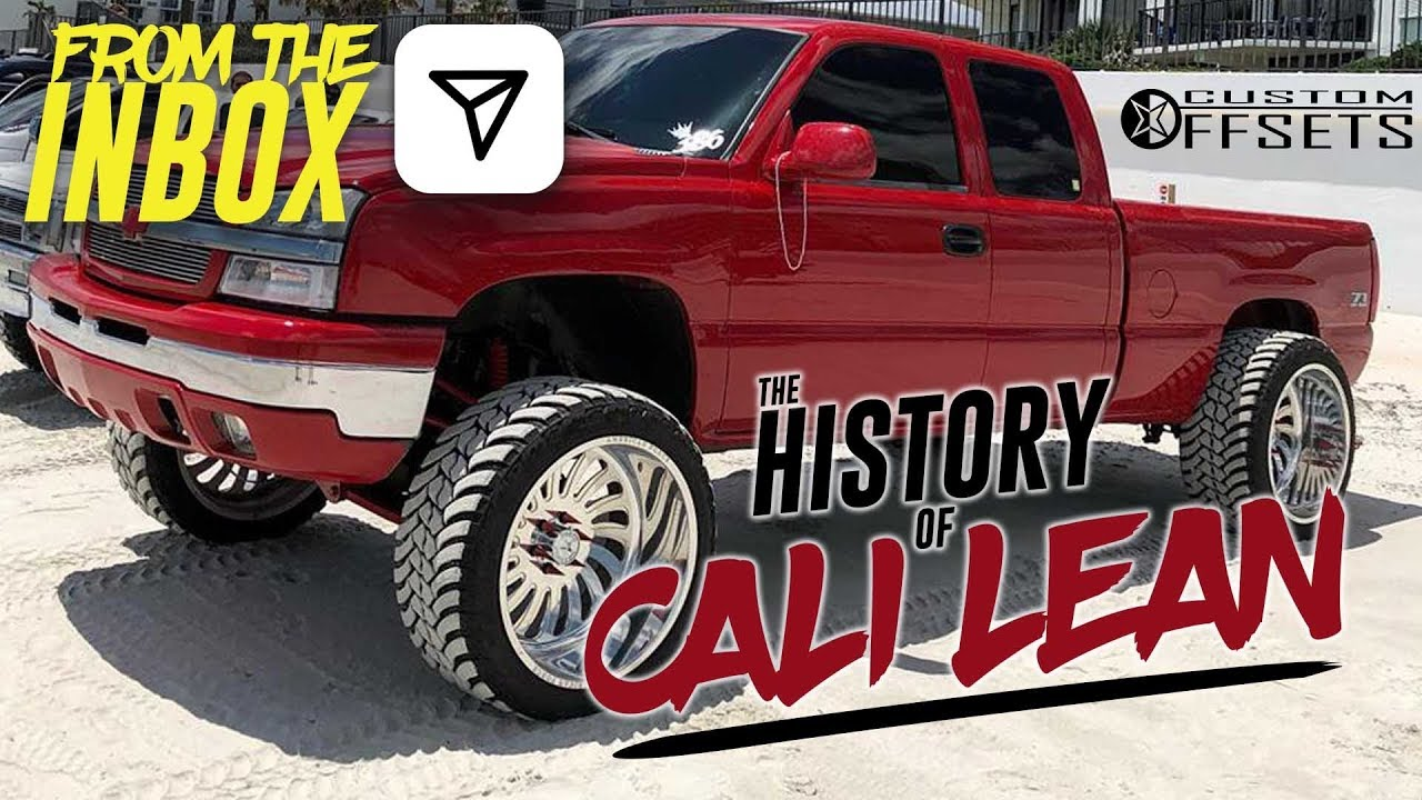 Lifted Gmc Sierra >> From the Inbox - History of Cali Lean - YouTube