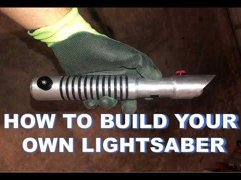 Battle-Ready Lightsaber Hilt from Scratch - DIY Build Guide