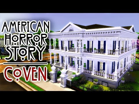 AMERICAN HORROR STORY COVEN | Sims 4 Speed Build