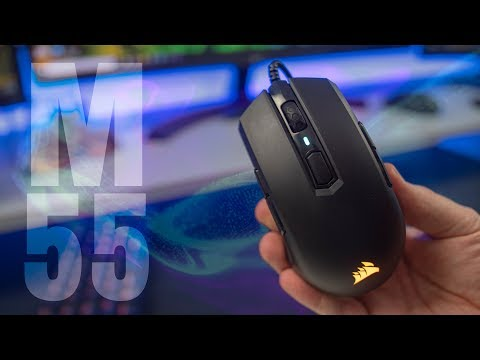 Affordable + Lightweight = Awesomeness - Corsair M55 Pro Review