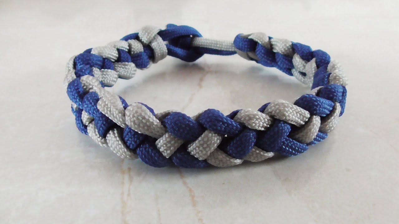 how to make a paracord bracelet with buckle how to tie a coyote trail paracord bracelet without buckle 231