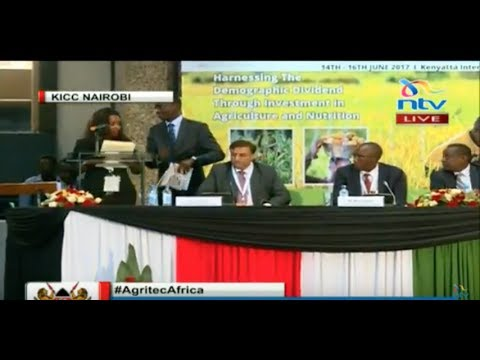As it happened Ministerial Conference on Agriculture