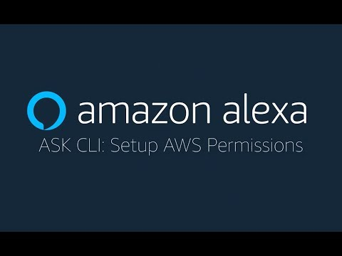 ASK CLI: Set Up AWS Credentials