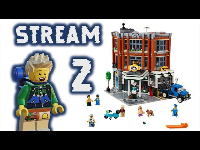 [Teil 2] Corner Garage Aufbau Stream & Talk (ft.Vic Bricks)