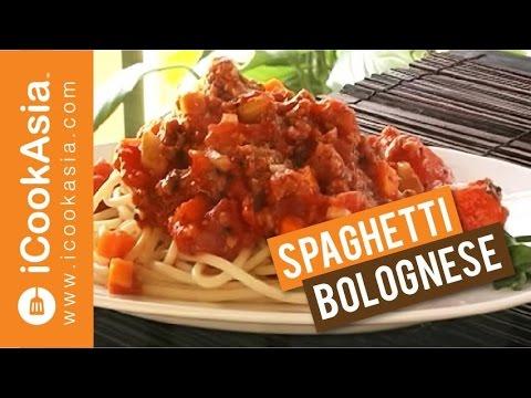 Spaghetti Bolognese Try Masak Icookasia Youtube