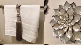 Small bathroom decorating ideas #bathroomdecorating #sparklelove
