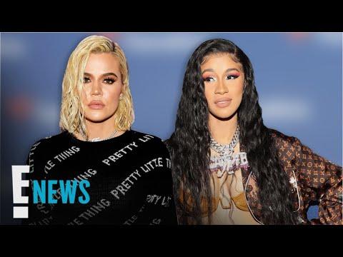 Cardi B Supports Khloe Kardashian After Tristan Thompson's Cheating   E! News