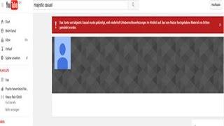 Die größte YouTube Kanäle wurde gelöscht