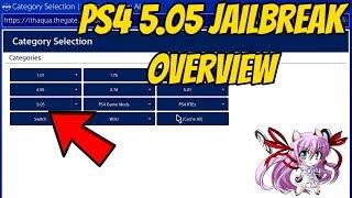 PS4 5.05 JAILBREAK OVERVIEW