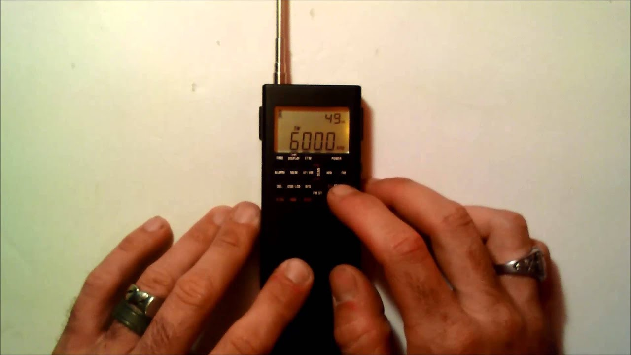 GP-5/SSB handheld SSB ham radio receiver review