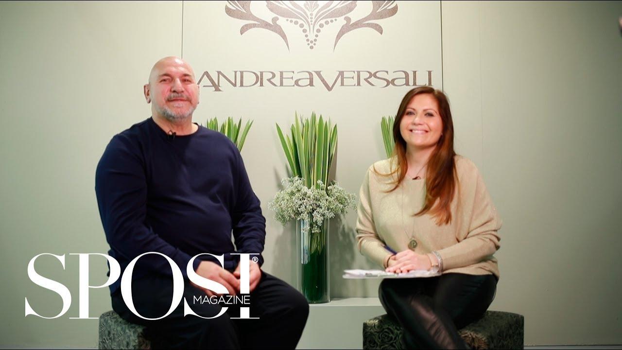 vendita calda sconto in vendita grandi affari sulla moda Andrea Versali 2019, l'intervista al nuovo stilista Tullio Di Lorenzo