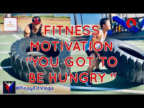 """FITNESS MOTIVATION """"YOU'VE GOT TO BE HUNGRY""""   CROSSFIT TRAINING WITH BUDDY JACOB DREYES"""