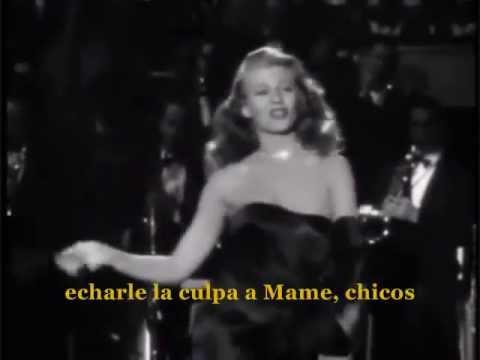"Rita Hayworth- Gilda ""Put The Blame On Mame""(subtitulos en español)"