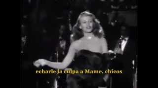 "Rita Hayworth- Gilda ""Put The Blame On Mame""(subtitulos en español)"