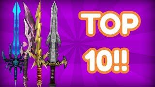 TOP 10 UNOBTAINABLES!!! (ROBLOX MMX)