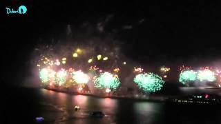 Palm Jumeirah Fireworks 2014 - World Record