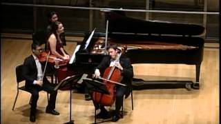 Beethoven Kakadu Variations Op.121a, trio for piano, violin and cello, Ich bin der Schneider Kakadu