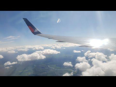 Boeing 767-300 AzurAir Взлет из Камрани(Нячанг) , Перелет , Посадка в Спиченково(Новокузнецк)