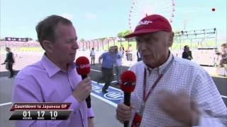 Martin Brundle and Niki Lauda - About Lewis Hamilton's Move to Mercedes