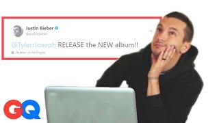 Tyler Joseph Goes Undercover on Twitter, YouTube & Facebook | Actually Me