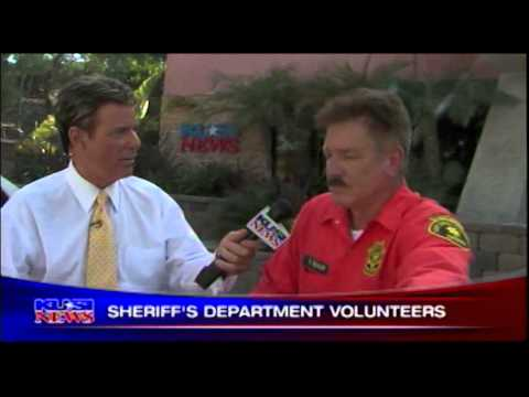 Volunteers on KUSI's San Diego People - San Diego County Sheriff's Department