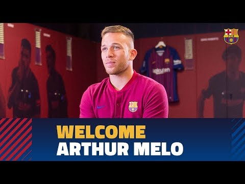[EXCLUSIVE] ARTHUR MELO: 'Arthur: 'I have admired Barça's style of play from a young age'
