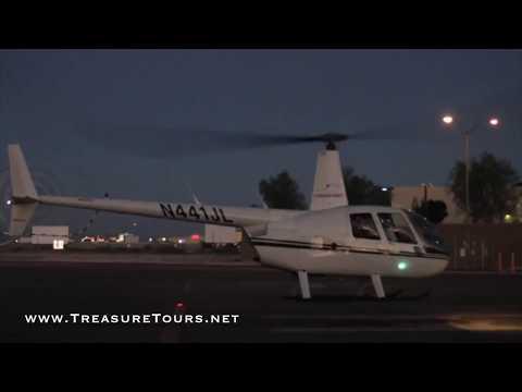 Hubschrauber Tour über Las Vegas und dem Strip - TreasureTours.net