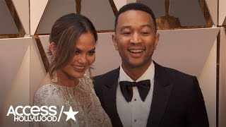 Oscars 2017: Chrissy Teigen & John Legend Share The Latest On Baby Luna