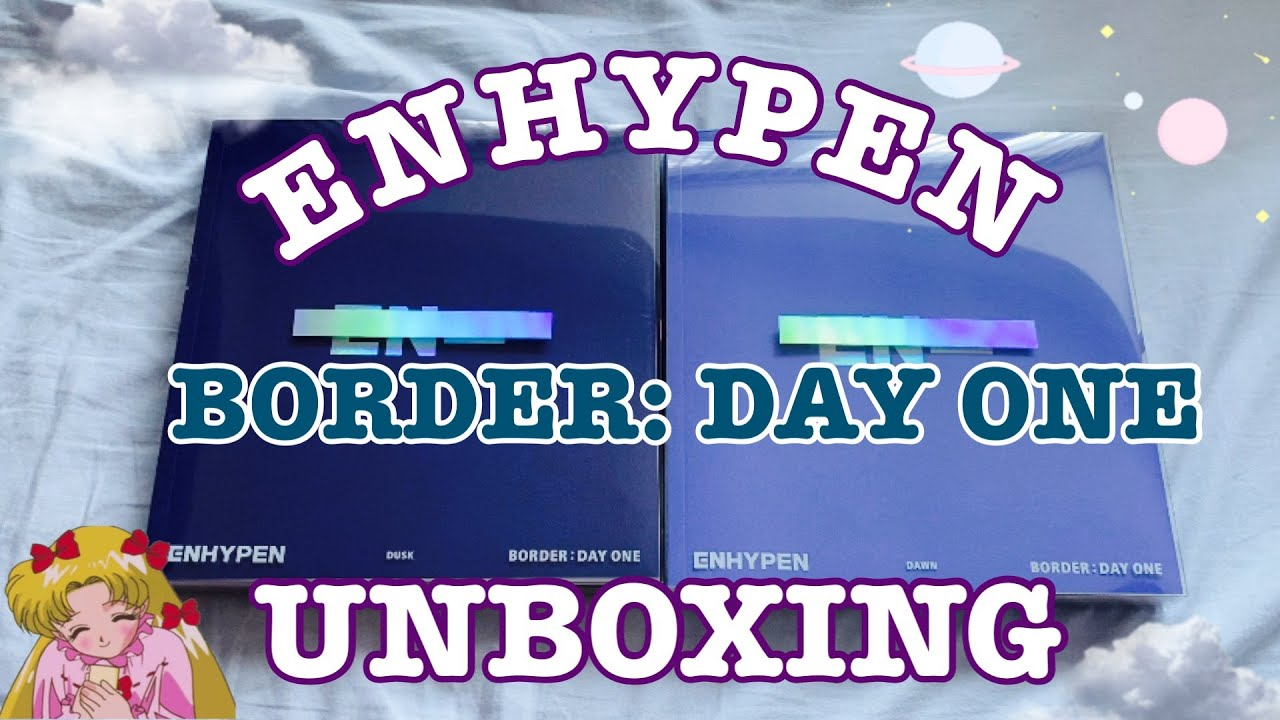 ☆ ENHYPEN BORDER: DAY ONE UNBOXING ☆