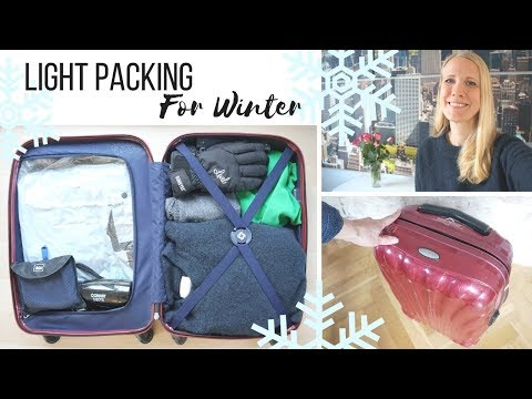 Light Packing for Winter - Sweaters & Snow Pants   Helpful Tips from Iceland Travel