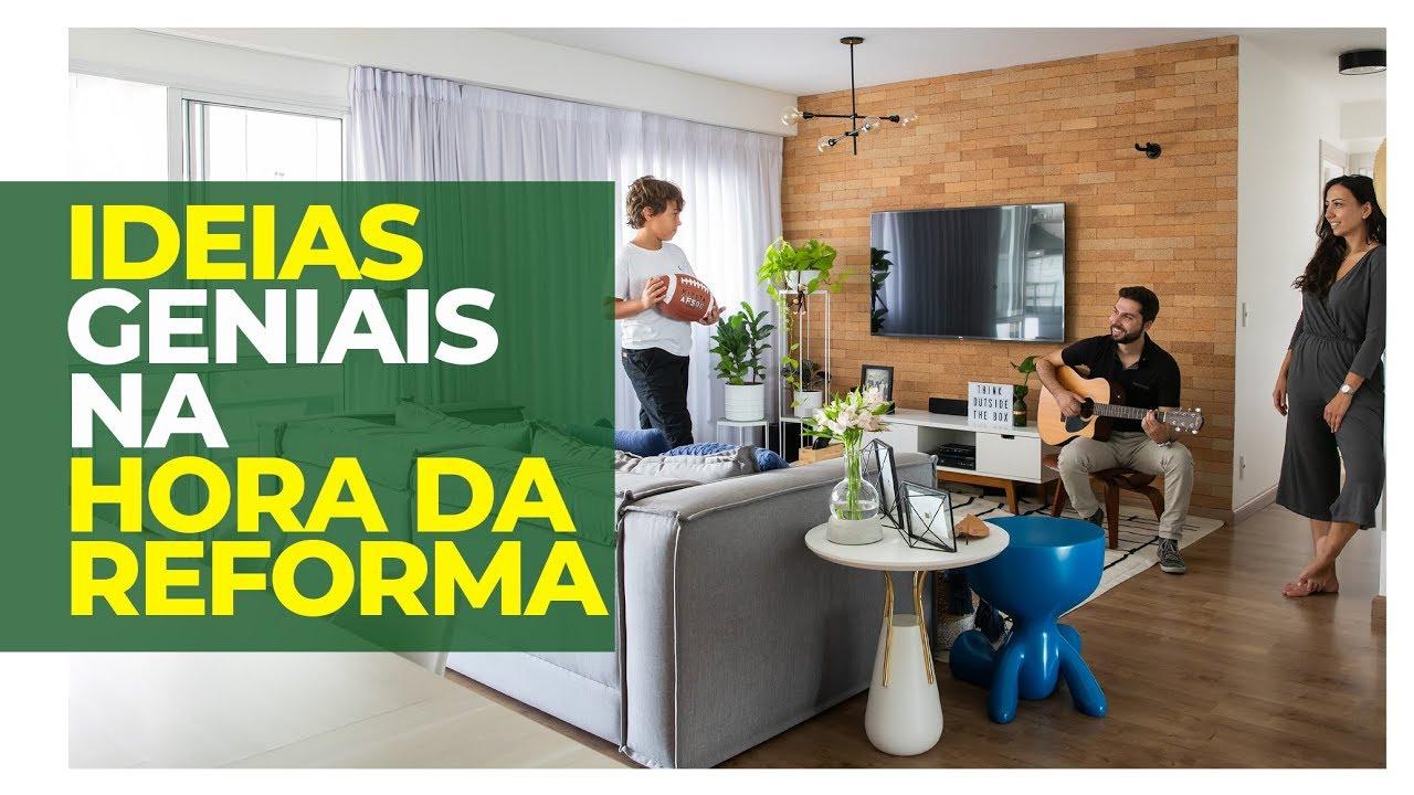 IDEIAS GENIAIS PARA REFORMAR A CASA - DICAS DE DIY, DECORAÇÃO E REVESTIMENTOS.