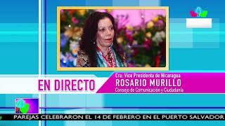 Comunicación con la Vicepresidenta Compañera Rosario Murillo, 15 de febrero de 2019