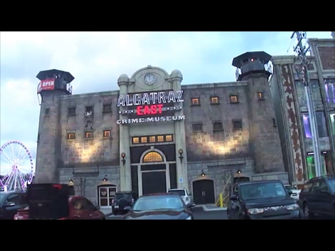 Pigeon Forge's New Attraction! Alcatraz East!