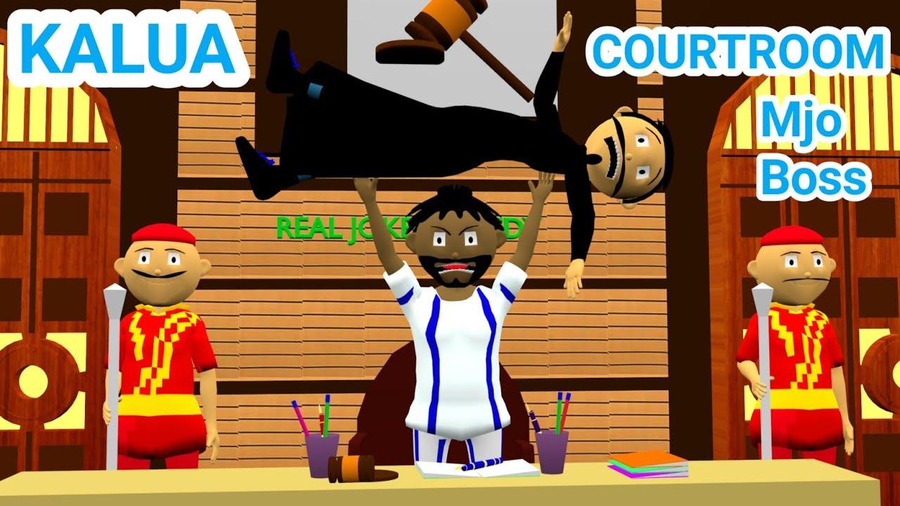 KALUA COURTROOM | Courtroom Comedy | Desi Comedy Video | Jokes | Mjo Boss