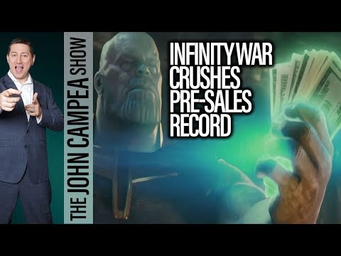 Avengers Infinity War Breaks Advanced Tickets Sales Records - The John Campea Show