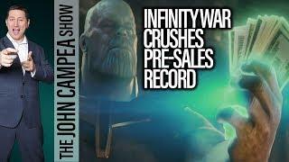 Avengers Infinity War Breaks Advanced Tickets Sales Records - The John Campea Show