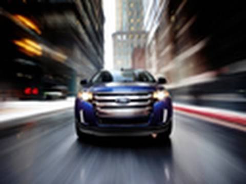 Ford Edge  Chicago Auto Show Edmunds Com