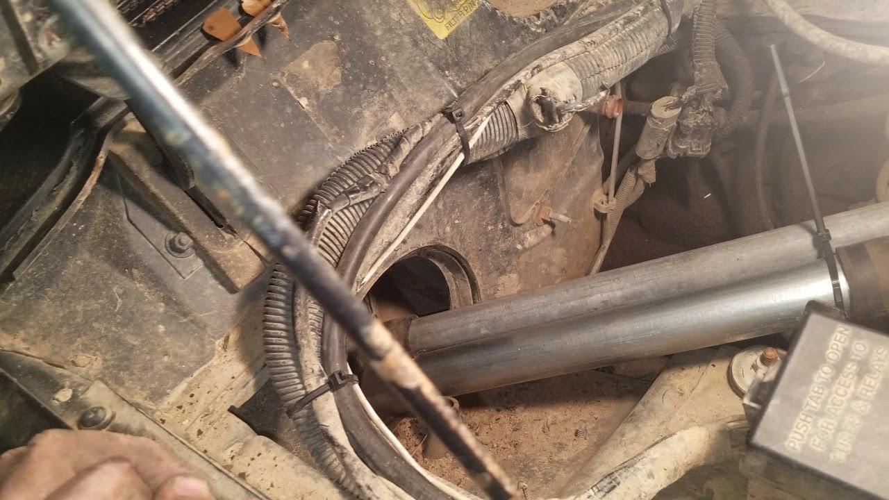 jeep cherokee xj rear mounted radiator [ 1280 x 720 Pixel ]