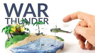 Huey vs. T55 (War Thunder) – Polymer Clay Tutorial
