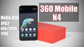 360 Mobile Qiku N4 обзор (распаковка) неожиданно интересного смартфона  unboxing  где купить?
